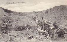 SANDSACK BARRIKADE IN FLIREY - WW1 GERMAN ARMY POSTCARD