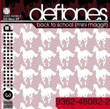 Audio Cd Deftones - Back To School