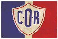 C.O.R  VINTAGE  TIN SIGN  EXTRA LARGE   Size 80 X 53 cm
