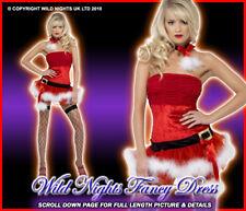 ***SALE*** Christmas Fancy Dress # Sexy Naughty Santa SM 8-10