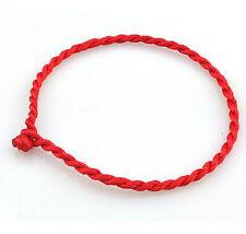 NEW DIY Red string LUCKY Bracelet KABBALAH against EVIL Eye SUCCESS Luck