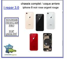 Châssis / Coque pré monté arrière iPhone 8 Argent Noir ou Rose