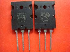 2PAIR, 2SA1302 + 2SC3281 TOSHIBA PNP TRANSISTORS NEW