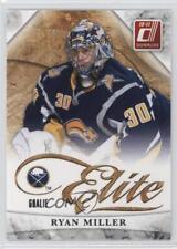 2010-11 Donruss Elite Series #6 Ryan Miller Buffalo Sabres Hockey Card