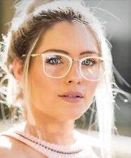 Vintage Acetate Eyeglasses Frames Women Designer Glasses Eyewear Clear lenses