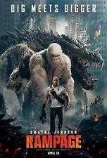 Rampage Poster de película cine película A4 A3 Art Print