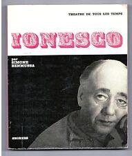 """""""EUGENE IONESCO"""" S. BENMUSSA (1966) BIOGRAPHIE"""