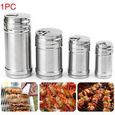 Stainless Steel Spice Bottle Sugar Salt Pepper Shaker Cooking Seasoning Bottle