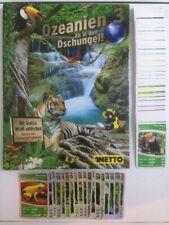 Netto - Ozeanien 3 Ab in den Dschungel! Glitzerkarten und Sets zum aussuchen