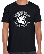 SHARP - T-SHIRT (Gildan Branded SKINHEADS AGAINST RACIAL PREJUDICE Skins Ska)