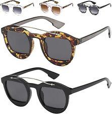 nuovi occhiali da sole donna ragazza OCCHIO DI GATTO rétro rotondo Square lenti