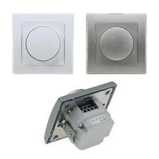 LED Dimmer DELPHI Schalter Unterputz UP 230V 3-60W Regler Drehdimmer 2-Draht