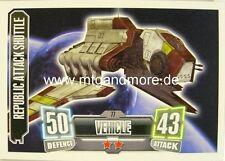Republic Attack Shuttle #077 - Force Attax Serie 2