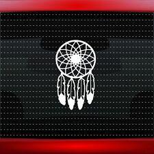 Dreamcatcher #4 Native American Car Decal Window Sticker Feather (20 COLORS!)