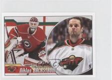 2010-11 Panini Album Stickers #249 Niklas Backstrom Minnesota Wild Hockey Card