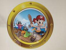 Pirate Porthole Vinyl Wall Sticker Decal Boys Girls Bedroom