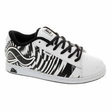 Adio Eugene Kids White/Black/Print Shoe. Adio Shoes Adio Trainers 50% OFF RRP