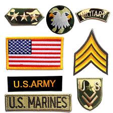 Aufnäher Bügelbild Militär Army Patch Applikation Flicken Aufbügler