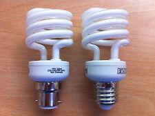 Mini Spirale Ampoule Lampe économie d'énergie CFL 23 W 18 W 14 W 9W bc / es 2, 4,10 nouveau