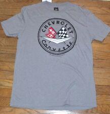 GM Chevrolet Corvette Racing Flag Tee Officially Licensed Men's Graphic T-Shirt