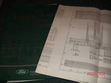 1993 FORD F600 F7 F800 F-600 F-800 CAB WIRING DIAGRAMS