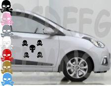 Adesivi TESCHI SKULLS IN 7 COLORI tuning STICKERS VINILE AUTO IMPERMEABILI TESCH