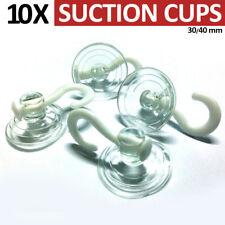 10 tazza di aspirazione Gancio Chiaro Gomma finestra Suckers Segno titolare vetro SHOP 30/40 mm