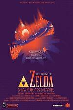 RGC Huge Poster - Legend of Zelda Majora's Mask 3D Nintendo 3DS N64 - ZEL045