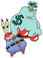 Mr. Krabs Spongebob Sponge Bob Money Funny Vinyl Sticker Decal