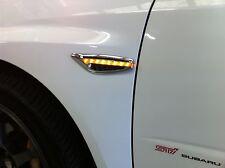 Amber blade style LED side indicatorsx2--subaru Impreza WRX 1998-2007 error free