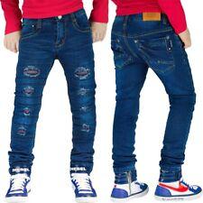 Squared & Cubed Denim Jungen Jeans Slim Fit Cool School Schule Freizeit Stretch