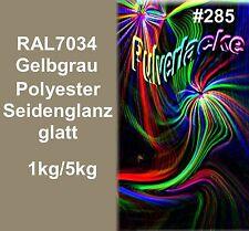capa del Polvo Polvo Para Recubrimiento ral7034 Gris - amarillo/gris, 1kg 5kg