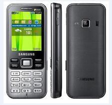 """Original Samsung C3322 Duos Dual Sim Metallic Black C 3322 Original 2.2"""" 2.0MP"""