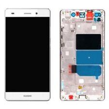 PANTALLA  LCD+TACTIL CON MARCO BLANCA HUAWEI P8 LITE 2016 ENVIO 24 HORAS