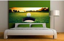 Sticker tête de lit décoration murale Golf réf 3666 (5 dimensions)
