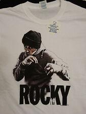 New Rocky Balboa Shadow Boxing 40th Anniversary Movie T-Shirt