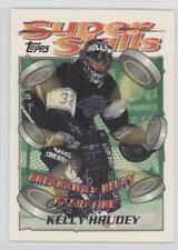 1995-96 Topps Super Skills #87 Kelly Hrudey Los Angeles Kings Hockey Card