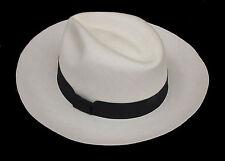 "Genuine Panama Hat from Montecristi ""Ultrafino"" 30 weaves Men Woman Straw Fedora"