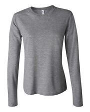 Bella + Canvas Women's Jersey Long-Sleeve T-Shirt B6500 S-2XL