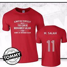 Liverpool sempre essere... Mohamed Salah T-SHIRT Liverpool mo Salah, YNWA T-SHIRT