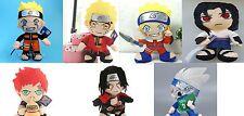 "Naruto Hatake Uzumaki Itachi Gaara Uchiha Sasuke Plush Soft Toys 12"" NEUF"
