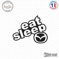 Sticker JDM Eat Sleep Mazda Decal Aufkleber Pegatinas D-165 - Couleurs au choix