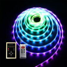 10~60M Magic Dream Color Chasing LED Strip Light Flexible Waterproof w/ 12V PSU