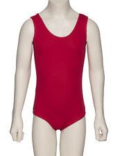 tous coloris filles coton sans manche Ballet claquette justaucorps danse kdc036