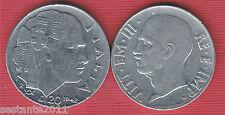 I4, ITALIA ITALY VITTORIO EMANUELE III 20 CENTESIMI IMPERO 1942, KM 75b SPL / XF