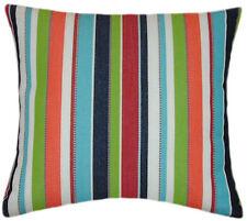 Sunbrella Carousel Confetti Indoor/Outdoor Striped Pillow