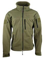 Defender Unisex Tactical Military Water Resistant Heavyweight Fleece Jacket
