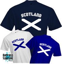SCOTLAND T Shirt - Scottish, Flag, St Andrew, Patriotic, Independance, Quality
