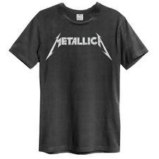 Amplified Metallica Logo Unisex T-Shirt