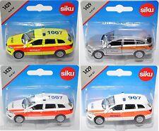 Siku 1429 AUDI q7 4.2 store quattro modèle 2006-2009 sauvetage/urgences
